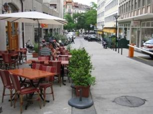 Rue des Marronniers, Genève: Un raccourci bienvenu pour aller prendre le tram 12 depuis les Eaux-Vives!