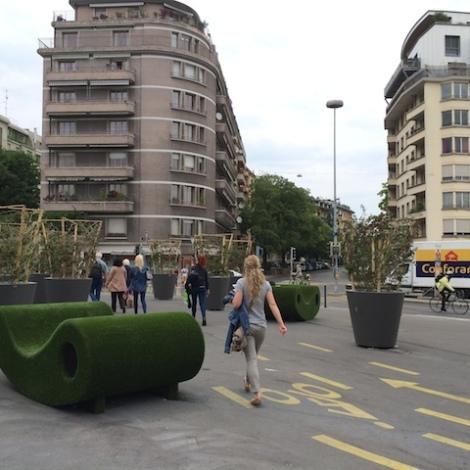 Pont des Délices, Genève Un nouveau lieu de rencontre est né!