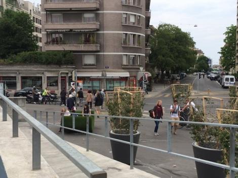 Pont des Délices, Genève Aujourd'hui on choisit de s'attarder sur ce lieu autrefois résiduel...