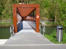 Le Limmatsteg. Source : Fussverkehr.ch