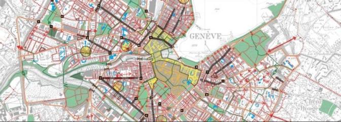 Plans directeurs des chemins pour piétons – Canton de Genève
