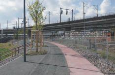La voie ferrée désaffectée. Source : Fussverkehr.ch
